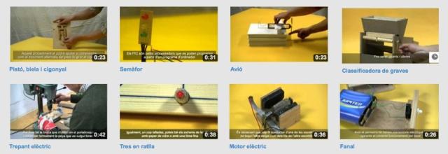 Vídeos dels procediments de Tecnologia