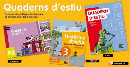 Quaderns d'estiu de Text-La Galera