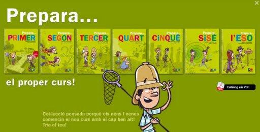 Quaderns Prepara de Text-La Galera