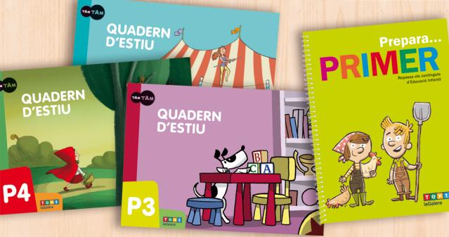 Quaderns d'estiu d'infantil