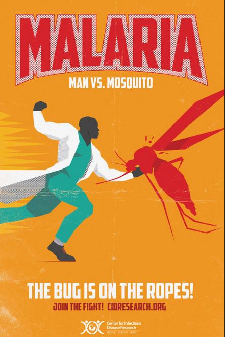 Malària pòster